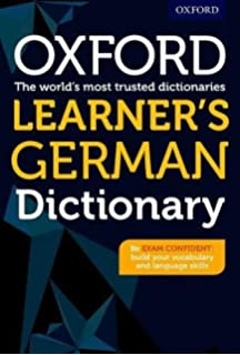 OXFORD LEARNERS GERMAN DICTIONARY (Oxford Learner's