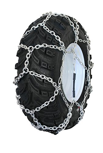 Peerless MTN-238 Garden Tractor / Snowblower Net / Diamond Style Tire Chains 29x12-12 by MaxTrac
