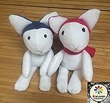 Wolf Children Doll Plush Toy, Handmade, Ame and Yuki dolls, Fanart Anime Manga Movie, Hana's doll, Yuki's doll, Ame's doll