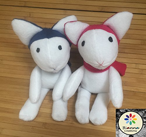Wolf Children Doll Plush Toy, Handmade, Ame and Yuki dolls, Fanart Anime Manga Movie, Hana's doll, Yuki's doll, Ame's doll by Bianna Creations