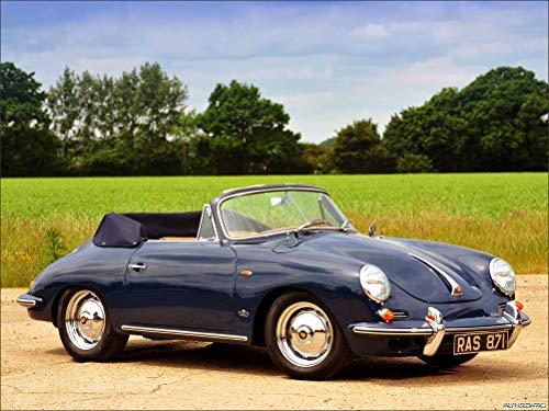 Innerwallz Porsche 356B 1600 Cabriolet Cars Wall Art, Pop Art, Poster, Art Prints | Rare Posters ()