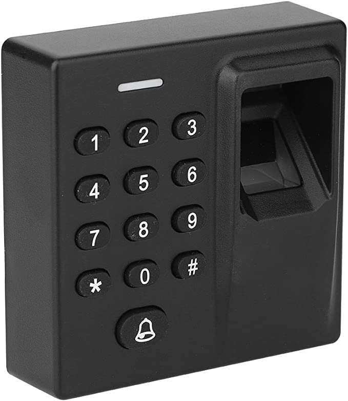 Wiegand Signal Output /& Build in Alarm for Home//Apartment//Factory Office Secure System fosa Biometric Fingerprint 125KHz RFID//IC Card Recognization Password Backlight Keypad Access Control