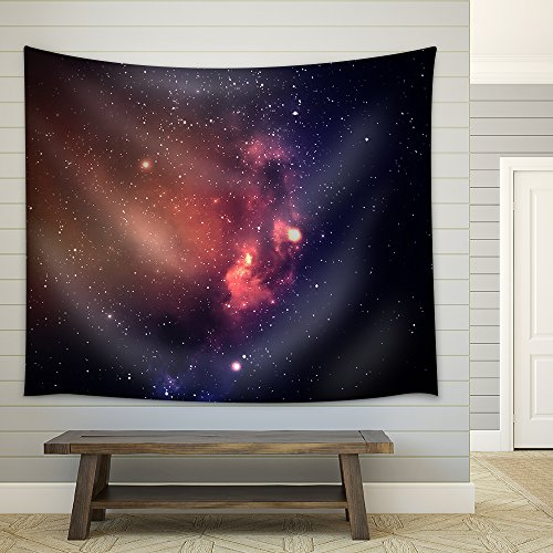 Star Field in Deep Space Many Light Years Far from the Earth Fabric Wall