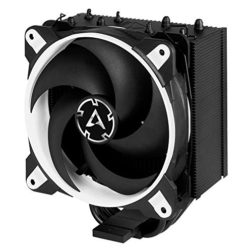 Price comparison product image ARCTIC Freezer 34 Esports Edition - Tower CPU Cooler with Push-Pull Configuration I Silent 3-Phase-Motor and Wide Range of Regulation 200 to 2100 RPM - Includes Low Noise PWM 120 mm Fan – White