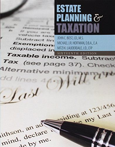 Estate Planning+Taxation