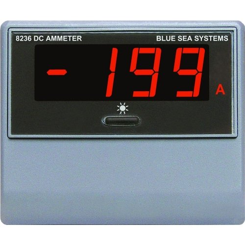 BLUE SEA SYSTEMS #8236 Blue Sea 8236 DC Digital Ammeter by Blue Sea Systems