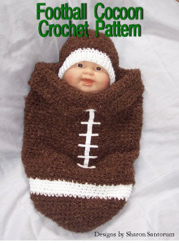 Amazon Football Cocoon Crochet Pattern Ebook Sharon Santorum