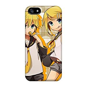 [dTn3705lVpZ]premium Phone Case For Iphone 5/5s/ Len Kagamine Rin Kagamine Tpu Case Cover