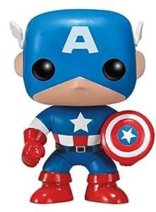 FUNKO POP! Marvel: Captain America - figuras de juguete para niños (Multi)