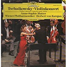 Pyotr Ilyich Tchaikovsky / Anne-Sophie Mutter - Wiener Philharmoniker - Herbert von Karajan - Violinkonzert - Deutsche Grammophon - 419 241-1