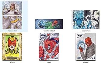 Marvel Premier 2017 Sketch Card Lot