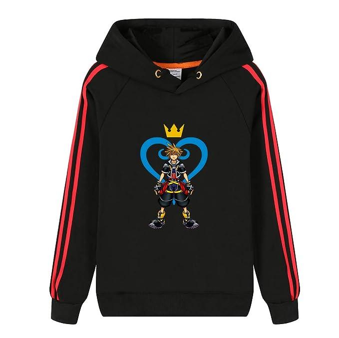 Kingdom Hearts Unisex Fashion Estampar Sudaderas con Capucha Sudaderas: Amazon.es: Ropa y accesorios