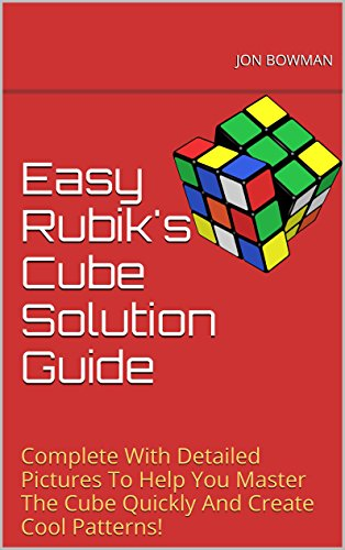 Easy Rubiks Cube Solution Guide ebook product image