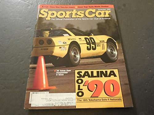 (Sports Car Nov 1990, Kendall, Chevy Wears Trans-Ams Crown)