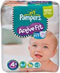 Pampers Active Fit Size 4+ (Maxi+) Mo...