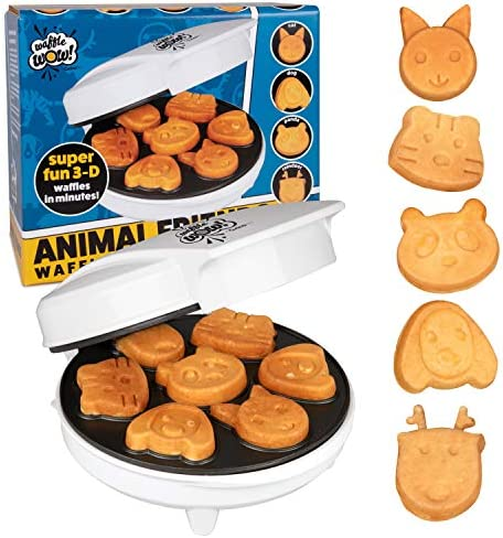 CucinaPro Animal Mini Waffle Maker- Make