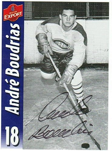 andre-boudrias-montreal-canadians-autographed-molson-export-card-autographed-hockey-slabbed-autograp