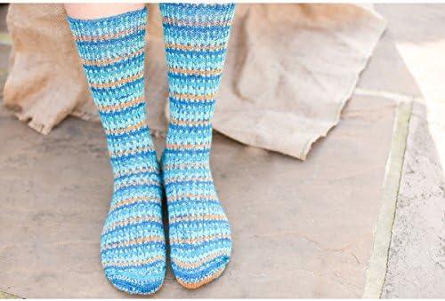 Kingfisher Blues \u201c  4ply sock yarn hand dyed by Lilypond
