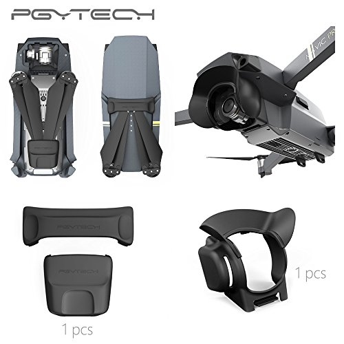 PGYTECH Propellers Motor Holder Fixed Protection Guard fixator and Lens Hood Sun Shade Glare Shield for DJI Mavic Pro drone accessories … by PGYTECH