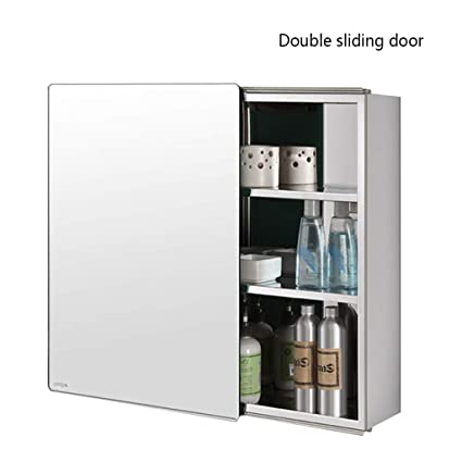 Amazon Com Mirrors Mirror Cabinet Stainless Steel Mirror