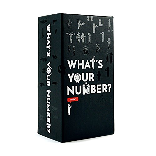 What's Your Number? Card Game - The Party Game of Polarizing Opinions [NSFW Edition] by What's Your Number?