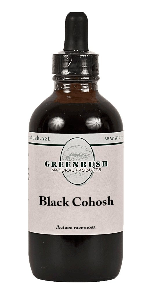Black Cohosh Alcohol-Free Liquid Herbal Extract. Super Value Size 4oz Bottle (120ml) 240 Doses of 500mg. The top herb for Reproductive Health in Women, hot Flashes Hormonal and Menopause Symptoms