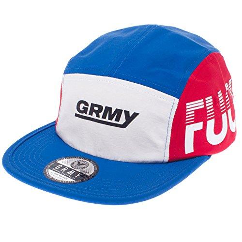 GORRA GRIMEY FUCK FAME 5 PANELS SS16 BLUE-STRAPBACK: Amazon.es: Ropa y accesorios