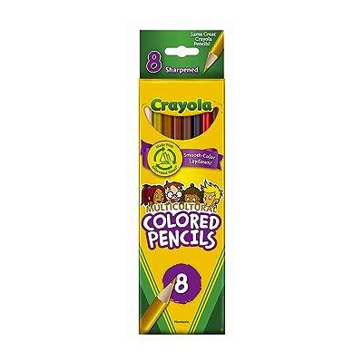 CRAYOLA - Lápices de Colores (68-4208): Juguetes y juegos