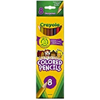 Crayola Multicultural Colored Pencils, Set Of 8 Colors(Discontinued by manufacturer)