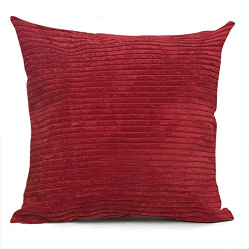 Smiry Striped Corduroy Pillowcase Decorative product image
