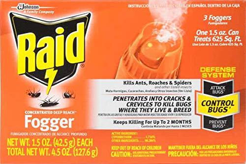 (Raid Indoor Fogger, Pack of 24)