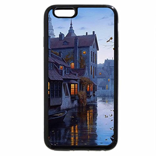 iPhone 6S / iPhone 6 Case (Black) By the river