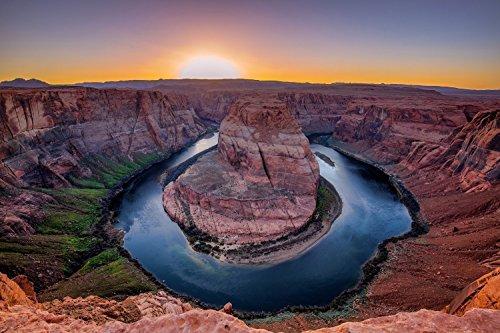 Horseshoe Bend Arizona Photography Print   Southwest Desert Picture Colorado River Grand Canyon Area Decor Artwork For Home Decoration 5X7 To 30X45