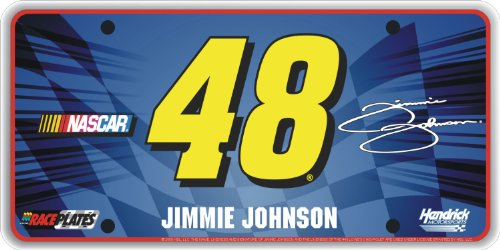 (Race Plates Signature Series #48 Jimmie Johnson License)