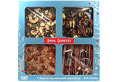 te Bark Quartet - A Gift for your Valentine, a Super Bowl Snack, a Perfect Hostess Gift for any Occasion ()