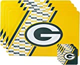 NFL Green Bay Packers Placemat Coaster Set