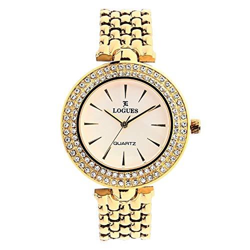 L Logues Analog Rose Gold Dial Women's Watch – 6042 YM