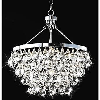 Modern robert abbey style bling chrome crystal chandelier modern robert abbey style bling chrome crystal chandelier pendant aloadofball Gallery