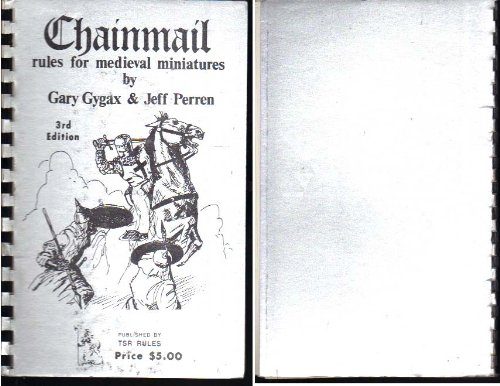 And Miniatures Dragons Rules Dungeons (Chainmail: Rules for Medieval Miniatures (Dungeons and Dragons))