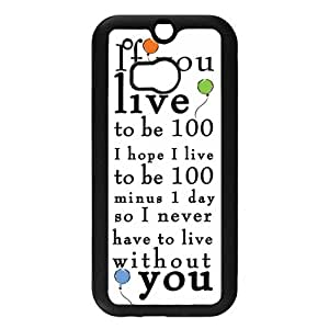 Htc One M8 Winne The Pooh Phone Funda, Personalized Htc One M8 Funda, Winne The Pooh Phone Funda