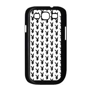 Samsung Galaxy S3 9300 Cell Phone Case Black_Zombie Bunny Playboy Tbymw