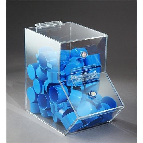 FTR Enterprises BCAM-L Dispensing Bin, (Clear Acrylic Dispensing Bin)