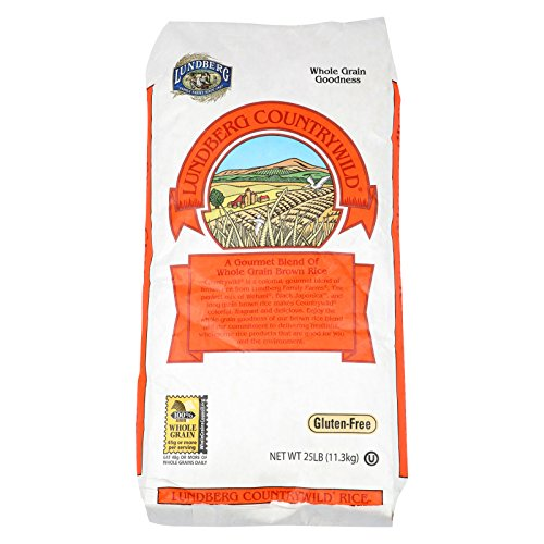 Lundberg Family Farms Whole Grain Brown Rice - Case of 25 - 1 lb. by Lundberg