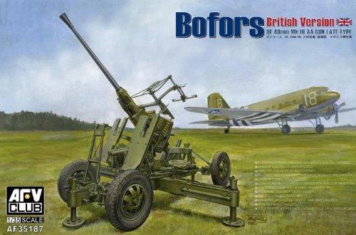 AFV Club 1/35 British Version of Bofors 40MM MK III AA GUN AF35187