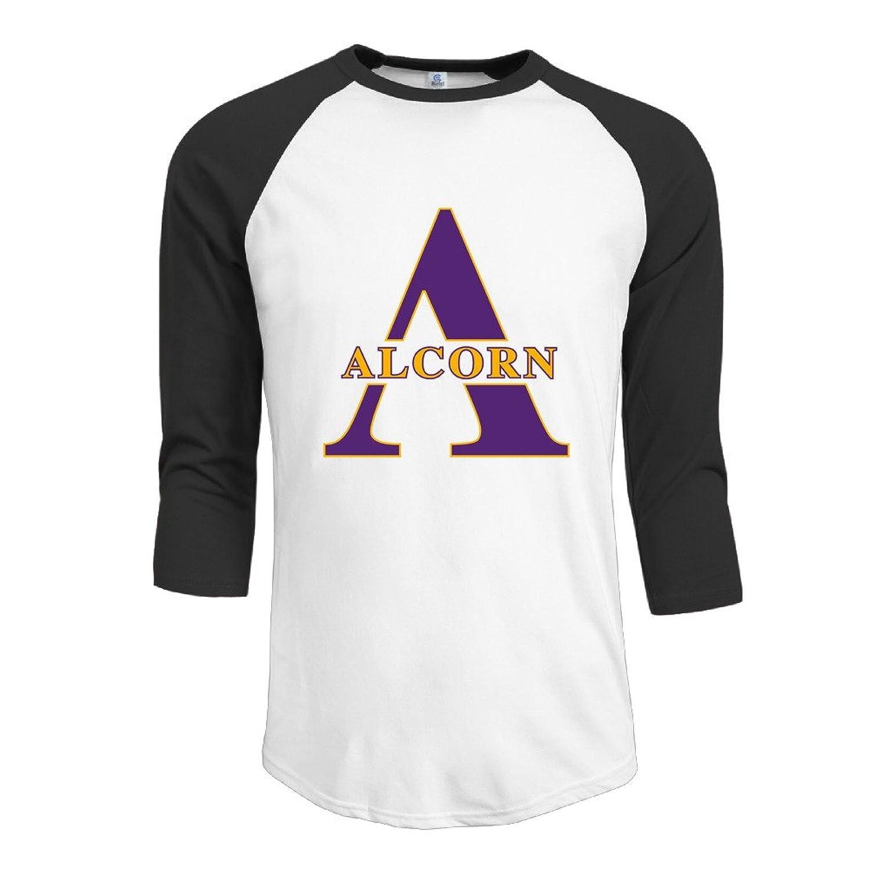 JXMD Men's Alcorn State University Tshirts Black