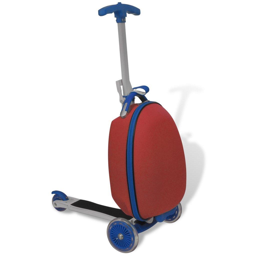Kinderkoffer Scooter - Kinderkoffer Roller - vidaXL Kinderscooter