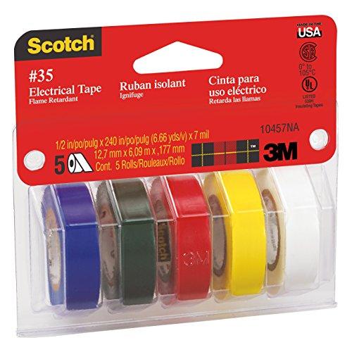 0fc4d5768f41 Scotch(R) 10457DS Electrical Tape
