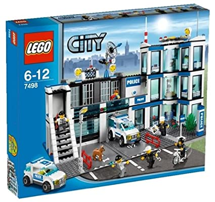 Amazoncom Lego Police Station 7498 Discontinued By Manufacturer