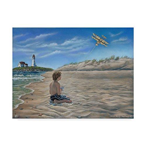Trademark Fine Art Flight Of Faith by Tricia Reilly-Matthews, 35x47-Inch by Trademark Fine Art