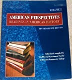 American Perspectives Readings in American History, Vol. 2
